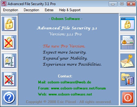 Click to view Advanced File Security Pro screenshots